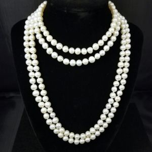 "REAL 65"" White Pearl Strand"